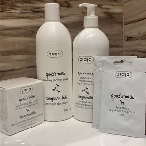 🌱 Bundle Goat's milk self care products